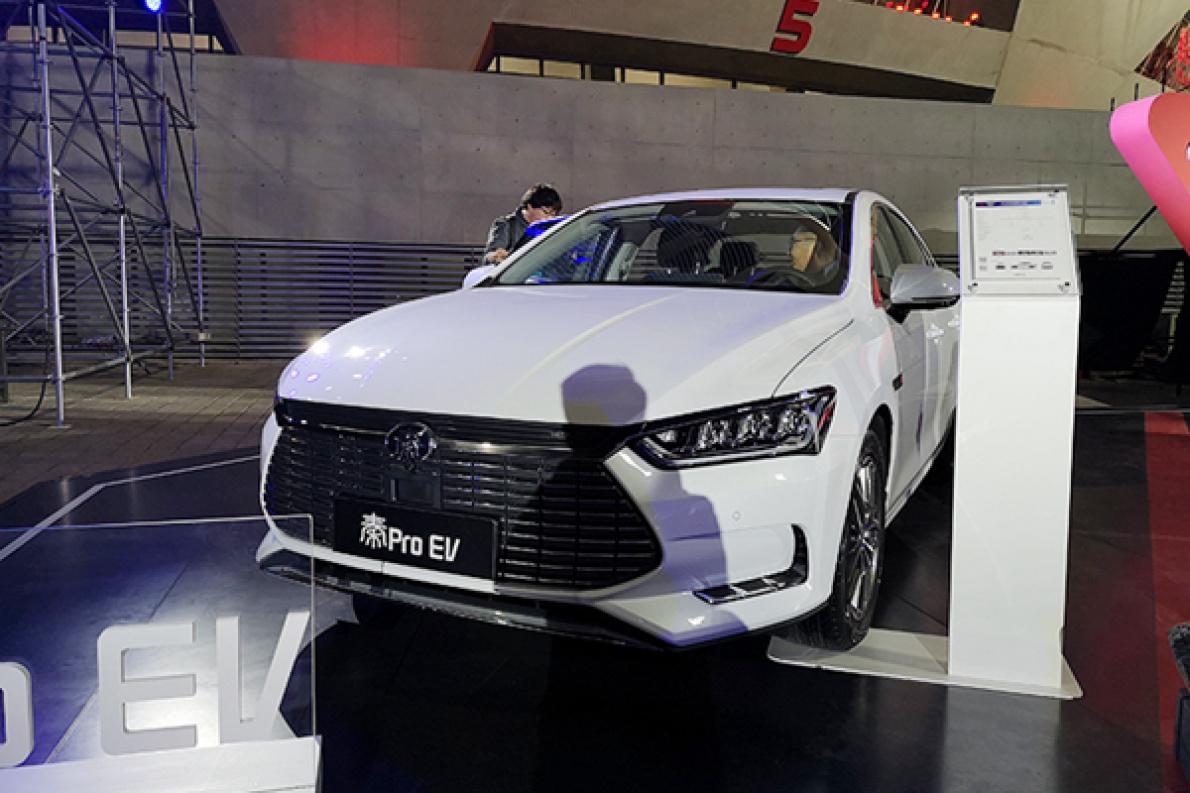 3种动力/6款配置,补贴后售价14.99—19.99万元,比亚迪秦Pro EV超能版配置曝光