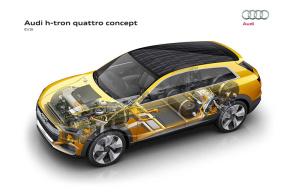 受动力电池产能影响 奥迪重启氢燃料电池项目